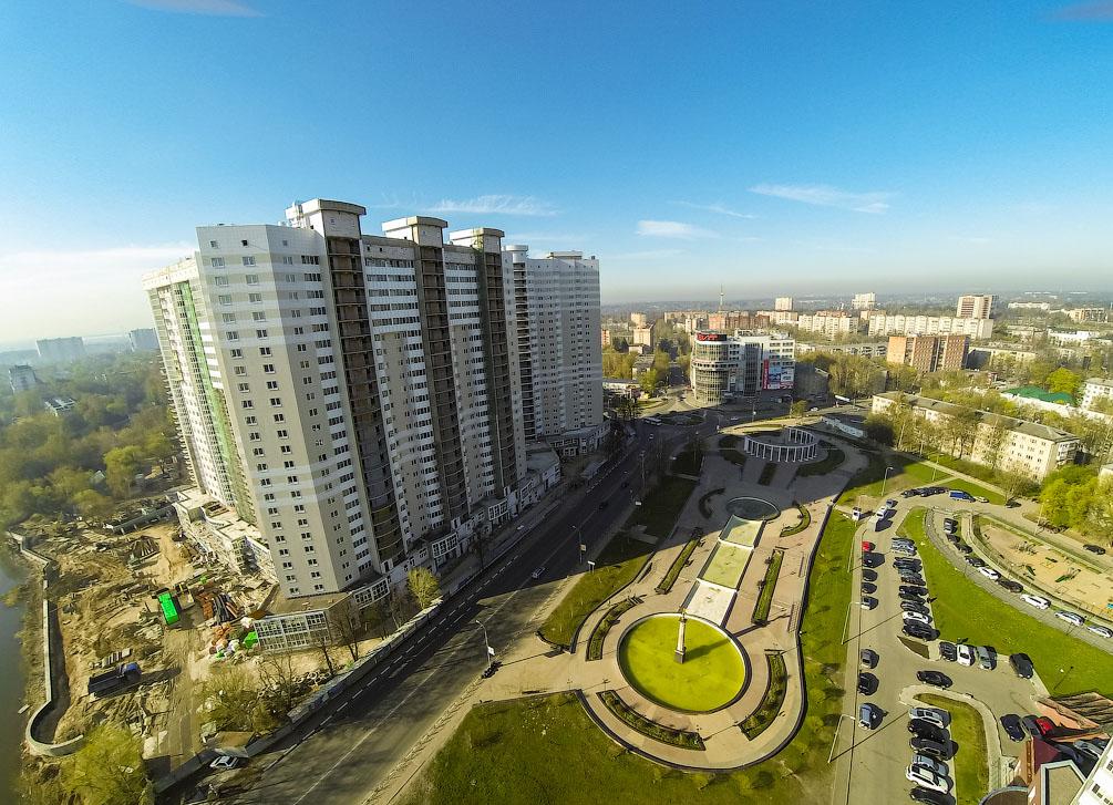 ЖК Центральный г.Пушкино ул. Чехова, в районе д. 1 и д. 5