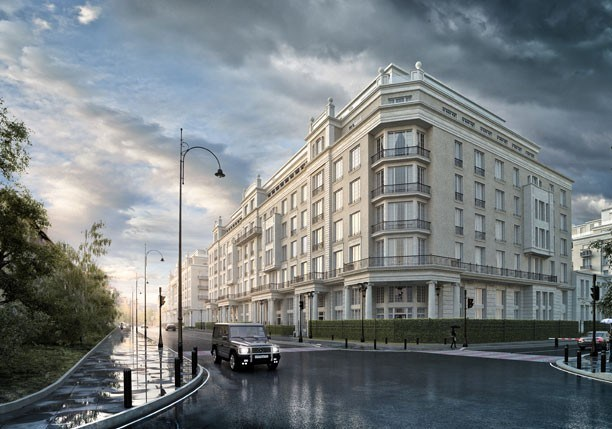 ЖК Knightsbridge Private Park жилой квартал