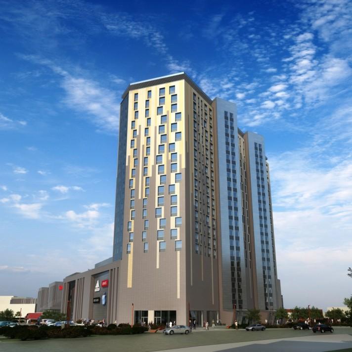 Башня апартаментов Красный кит