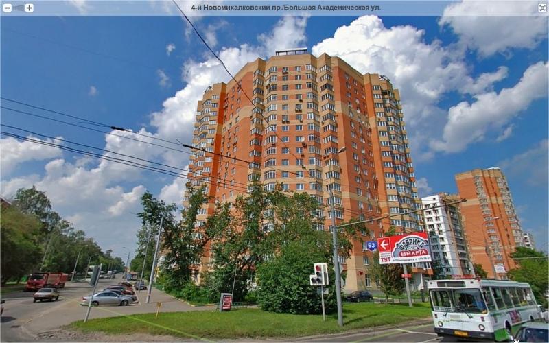 ЖК На Большой Академической жилой комплекс