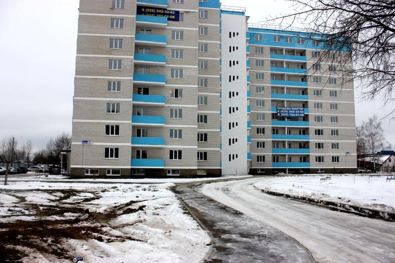 Новостройка г.Электрогорск, Ухтомского ул., 4А