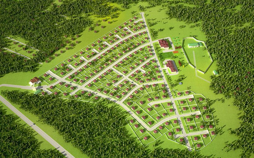 Коттеджный поселок Новое Тяжино