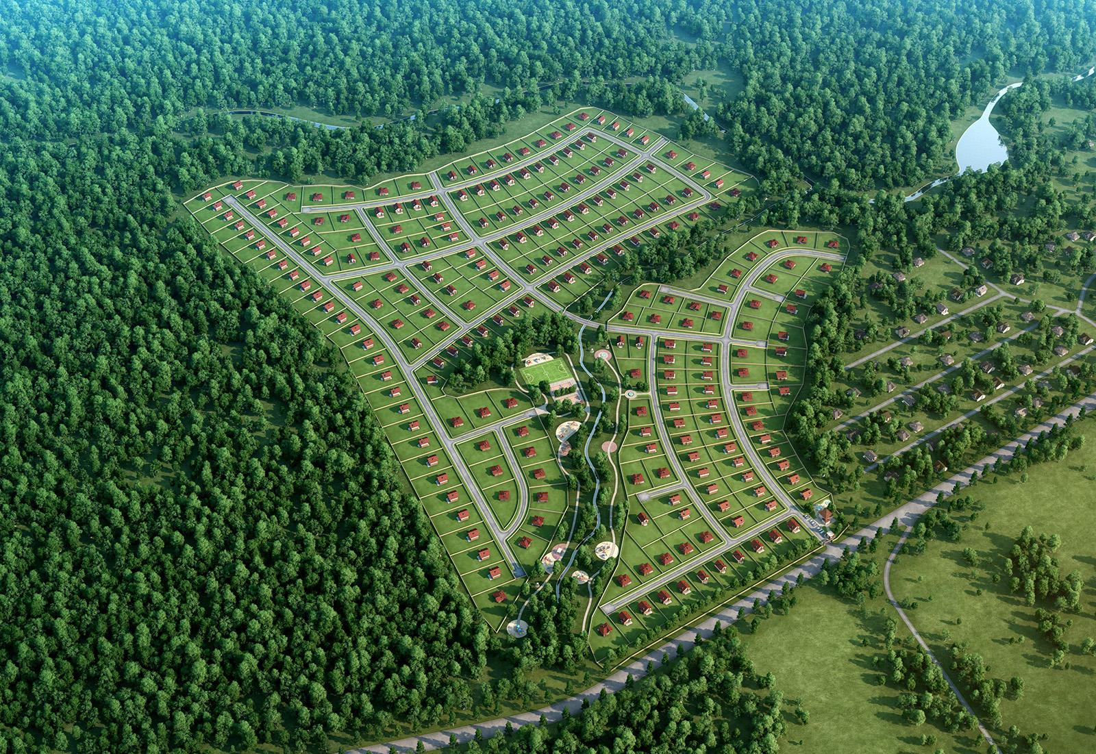 Коттеджный поселок Муравино